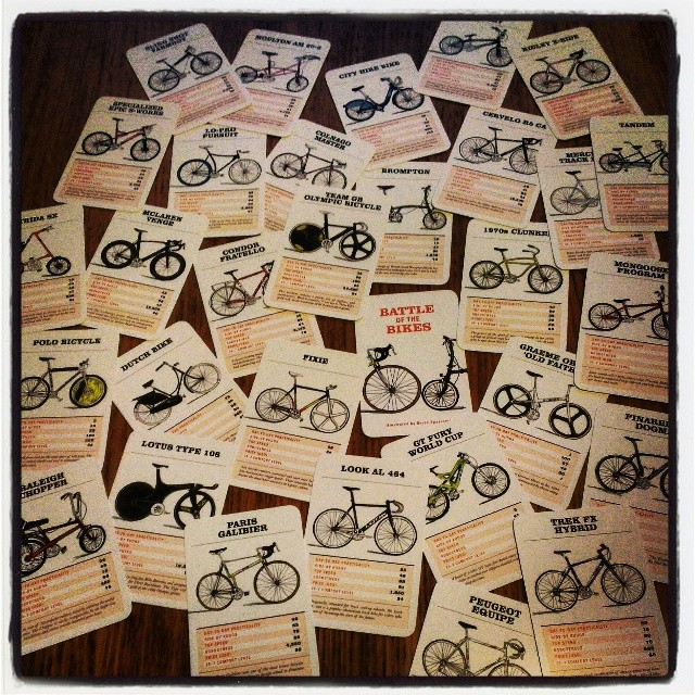all bike cards