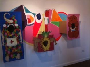 Art at the Bowery in Headingley.