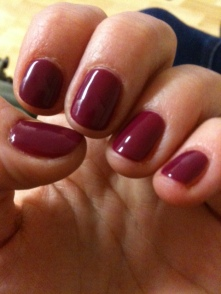 New holiday nails