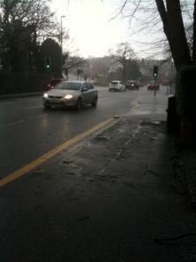 Hailing in Headingley