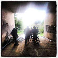 tunnelbikeride